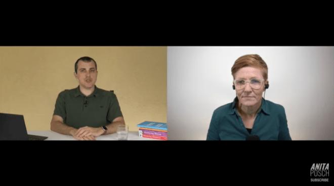 Andreas Antonopoulos predice una catástrofe económica en el programa de Anita Posch