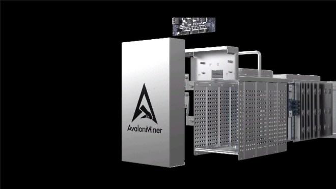 La máquina que lanza al mercado Canaan Creative, rompe con la tradición de enfriamiento interno con aire e incorpora el aceite dieléctrico para tal fin.