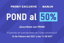 La Solución de Trilema DeFi y la Red Layer-0 de Marlin, debutarán en ProBit Exclusive el 16 de febrero