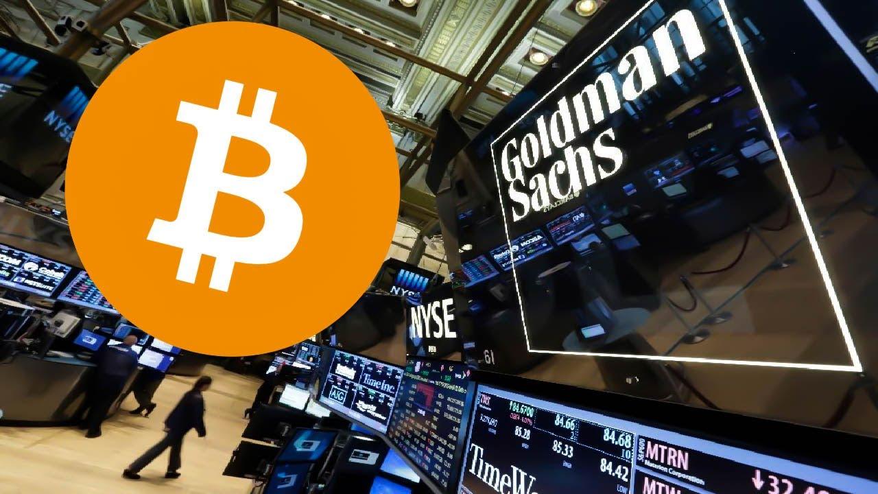 goldman bitcoin