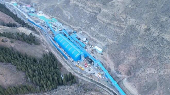 La inundación en la planta de Fengyuan en la provincia de Xinjiang, fue una de las causas de la caída del hashrate de Bitcoin. Fuente: The Global Times