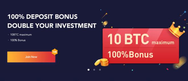 Bexplus ofrece una cripto bonificación para sus usuarios.