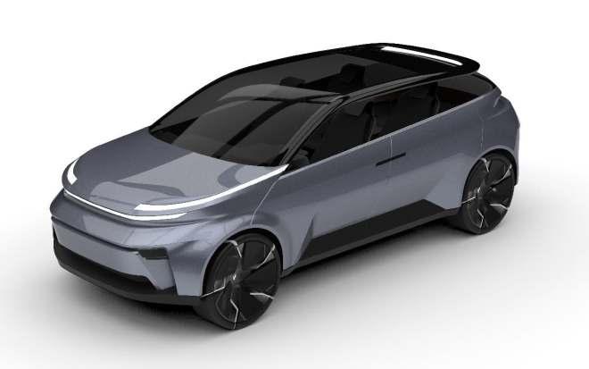 Carro eléctrico. Fuente: Proyecto Arrow