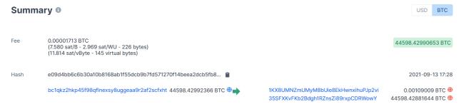 Se realizó una nueva transacción de Bitcoin de $2 mil millones, con una tarifa de transacción muy baja para el común denominador.