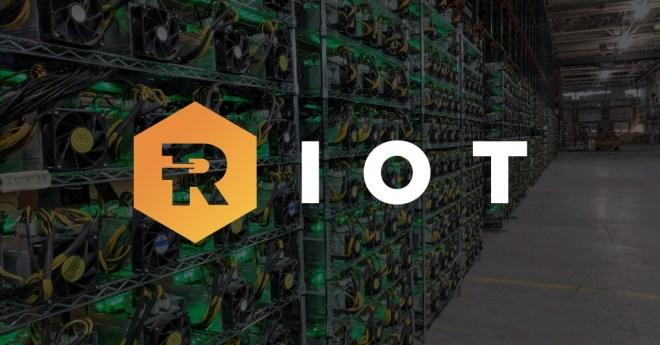 Poder de minado de Riot Blockchain, la consolida como una de las líderes de su área. Además, le permite incrementar sus ingresos.