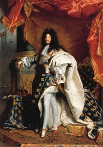Painting of Louis XIV of France
