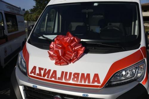 2019 - 17.07.2019 Inaugurazione nuova ambulanza Manziana
