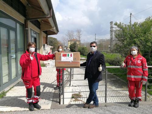 2020 - 30.03.20 Emergenza Covid 19 - Donazione Enea mascherine