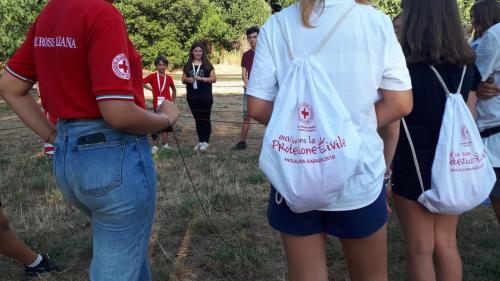 2019 - 21.07.2019 Inaugurazione campo Anch'io sono la protezione civile - Anguillara S.
