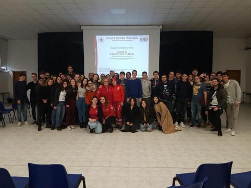 2019 - 03.03.2019 Corso Primo Soccorso Studenti Liceo Vian Bracciano