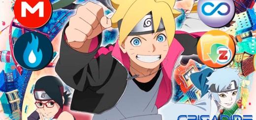 Boruto Naruto Next Generations MEGA MediaFire Openload Zippyshare Portada