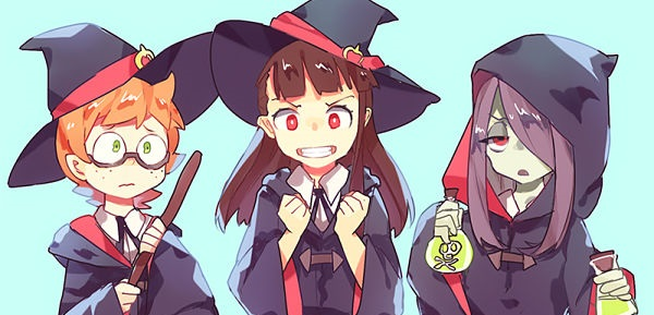 Little Witch Academia TV MEGA MediaFire Zippyshare Portada 2