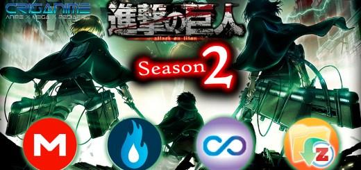 Shingeki no Kyojin S2 MEGA MediaFire Openload Zippyshare Portada