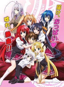 High School DxD BorN MEGA MediaFire Openload Zippyshare Poster