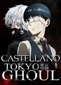 Tokyo-Ghoul Español Castellano MEGA MediaFire Openload Poster