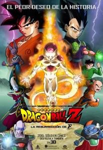 dragon ball z la resurrección de freezer latino mega mediafire openload poster