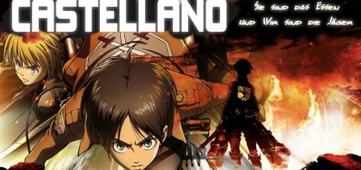 Shingeki no Kyojin Castellano MEGA MediaFire Openload Portada