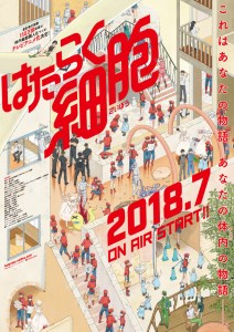 Hataraku Saibou MEGA MediaFire Openload Google Drive Poster