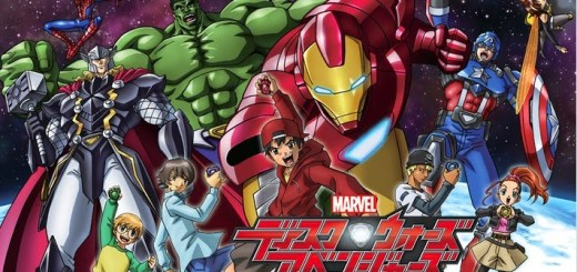 Marvel Disk Wars The Avengers MEGA Poster