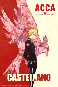 ACCA 13-ku Kansatsu-ka Castellano Poster