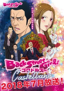 Back Street Girls Gokudolls Castellano Anime Poster