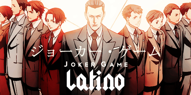 Joker Game Latino Anime Portada