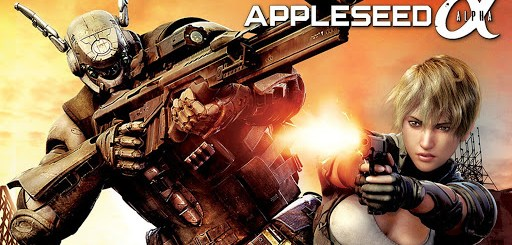 Appleseed Alpha Movie Portada