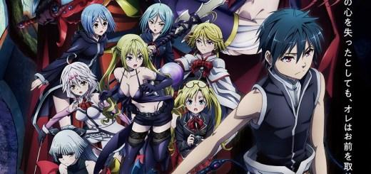 Trinity Seven Movie 2 Tenkuu Toshokan to Shinku no Maou Anime Portada