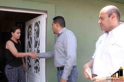 Restitución de bienes a vecinos de calle Rayón