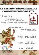 Curso sobre la religión mesoamericana como un modelo de vida