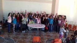 """Campaña """"Tócate para que no te toque"""" en Nochistlán"""