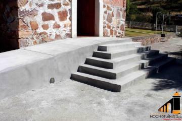 Construcción de rampa y gradas en El Capulín de Abajo