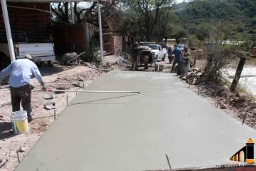 Avances de Obras en Capellanía, El Molino y Las Huertas