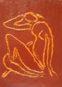Desnudo naranja
