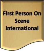 First Person On Scene international
