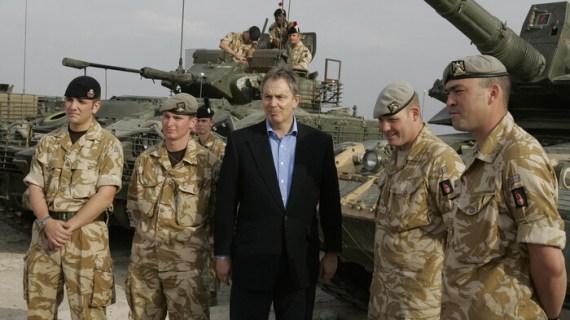 """Ο Μπλερ """"τα φούσκωσε"""" για να μπει η Βρετανία στον πόλεμο του Ιράκ"""