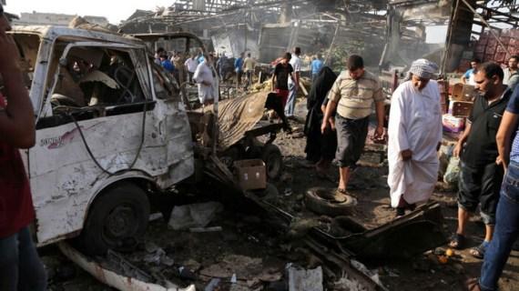 48 νεκροί από βόμβα στη Βαγδάτη