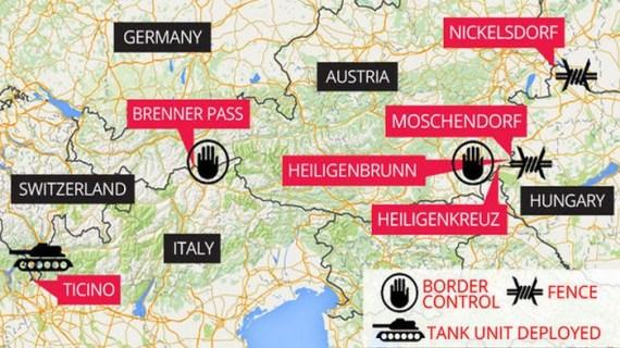 Η Κομισιόν απέτυχε: παρατείνονται οι εξαιρέσεις της Σένγκεν