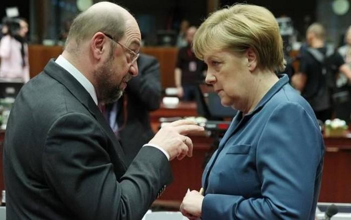 Μέρκελ VS Σούλτς στις γερμανικές εκλογές