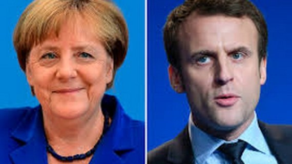 Παρέμβαση Μέρκελ και Μακρόν σε Πούτιν για τη Συρία
