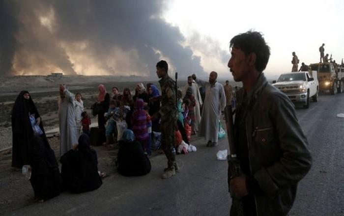 Με ανθρώπινη ασπίδα 100,000 αμάχων κρατά το Ισλαμικό Κράτος τη Μοσούλη