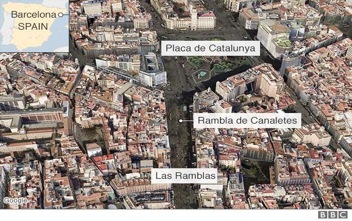 Τρομοκρατική επίθεση στη Βαρκελώνη, 15 νεκροί