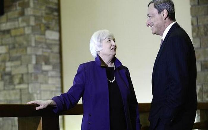 Ντράγκι-Γέλεν επιμένουν σε «κοντό χαλινάρι» για τους τραπεζίτες