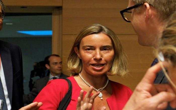 Μογκερίνι: Η ΕΕ στηρίζει τη συμφωνία για το Σκοπιανό
