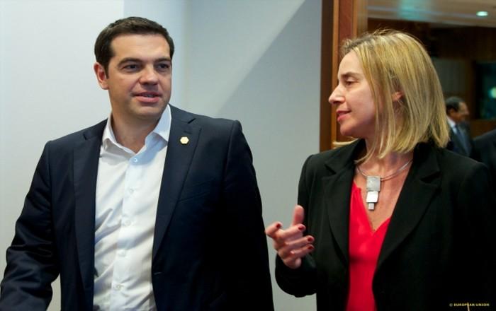 Βαλκάνια και Τουρκία συζήτησαν Τσίπρας-Μογκερίνι