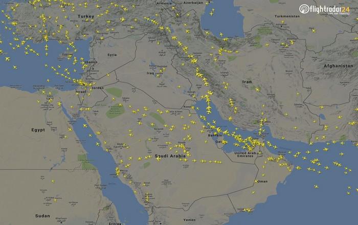 Κλειστός για επιβατικά και εμπορικά αεροσκάφη ο εναέριος χώρος της Συρίας