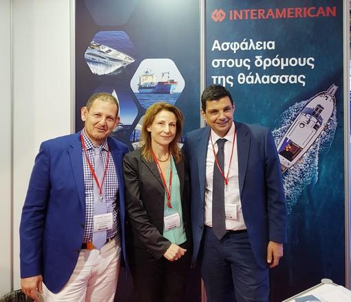 Η Interamerican στα «Ποσειδώνια», μπαίνει πιο βαθιά στη ναυτασφάλιση