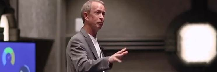 David Covington speaks at International Initiative for Mental Health Leadership Summit, Washington, DC
