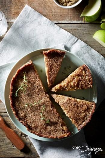 Tarta de manzana sin horno1