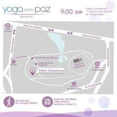 yoga por la paz mapa